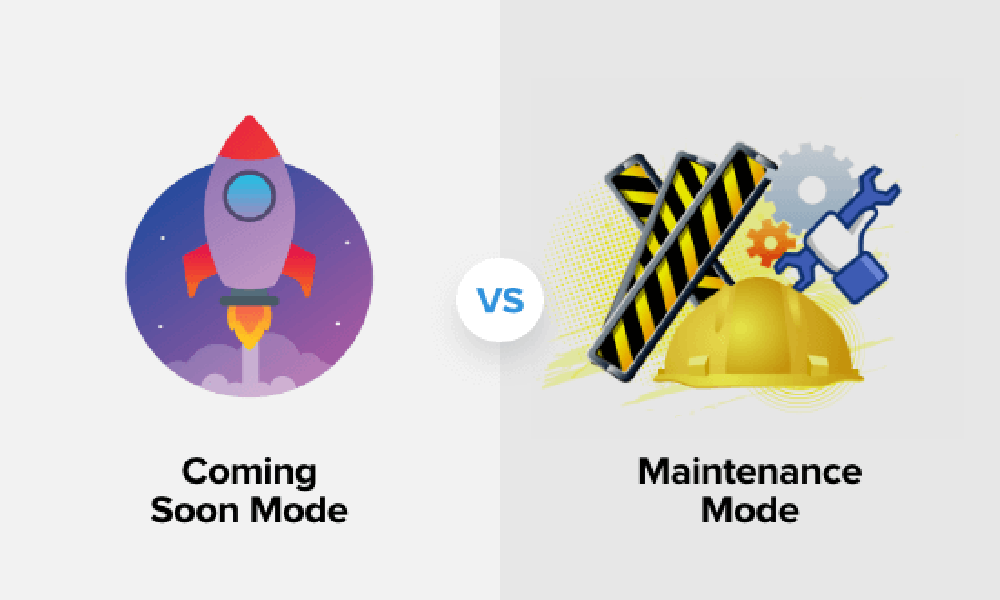 Coming soon vs. Maintenance mode – What's the difference (Explained)