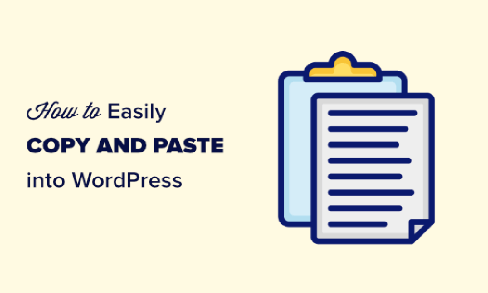 How to copy and paste in Word press without formatting issues